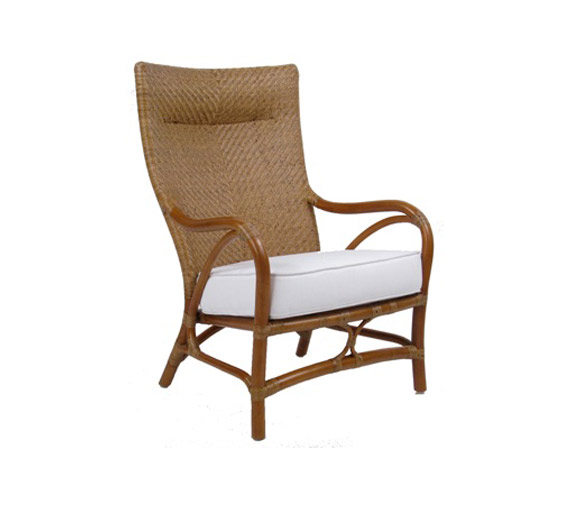 Santa Barbara Lounge Chair Rattan Material Indoor