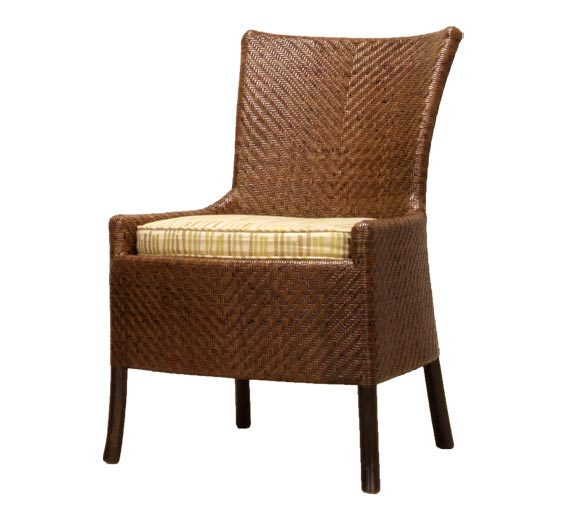 Mendocino Dining Side Chair Dining Chairs Style Indoor Furniture The Wicker Works