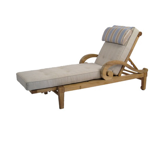 San Pietro Teak Sun Chaise Lounge Chairs Style Outdoor Furniture The