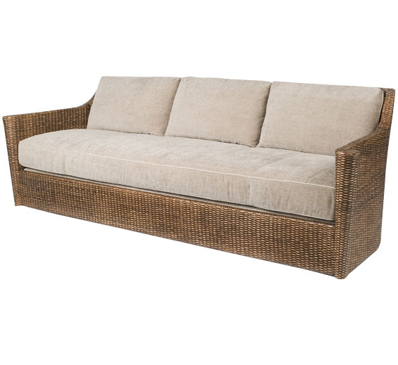 Indoor Wicker Sofa Classic Armless Sofa Sofas Style Indoor Furniture