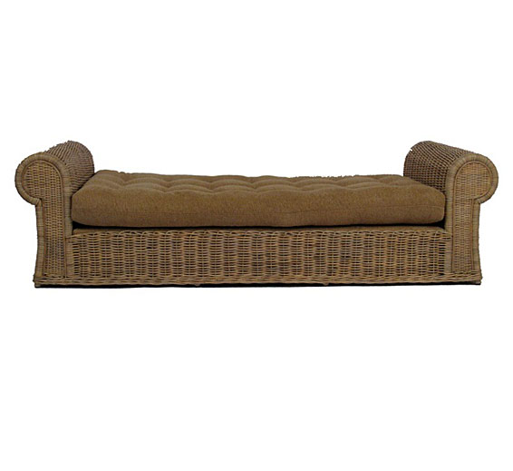Tonda Daybed Wicker Material Indoor Furniture The