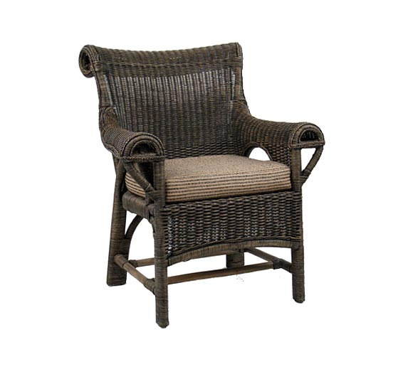 lounge chair wicker material indoor furniture the wicker works