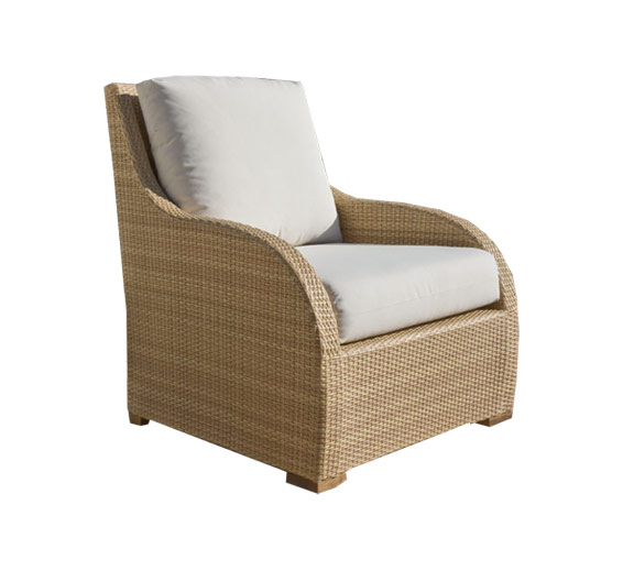 Brasilia Lounge Chair Wicker Material Outdoor Furniture The Wicker Works