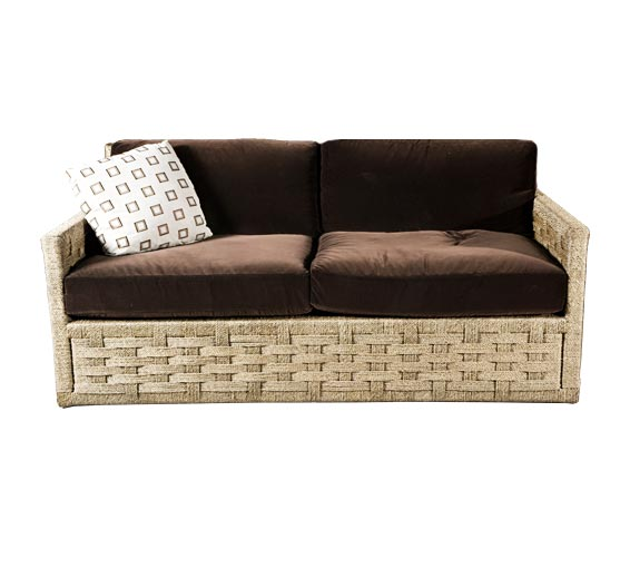 hopkins rope sofa sofas style indoor furniture the