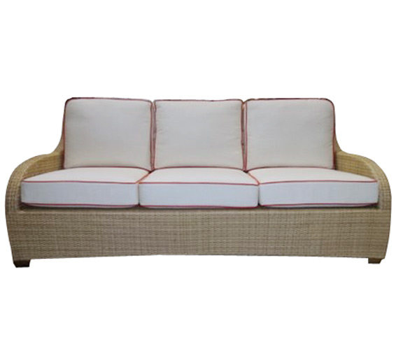 brasilia sofa outdoor furniture the wicker works