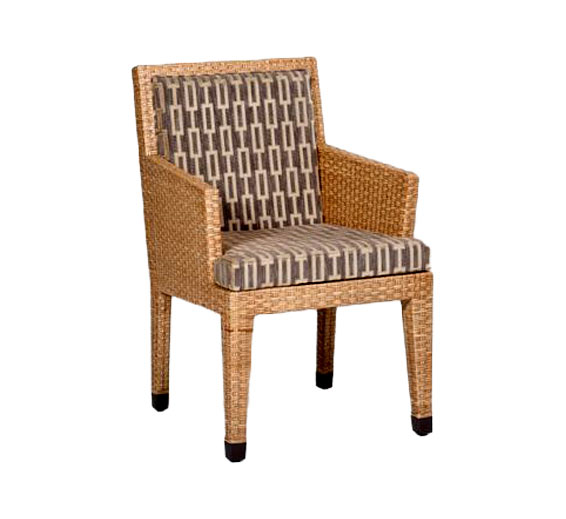 arm chair wicker material indoor furniture the wicker works