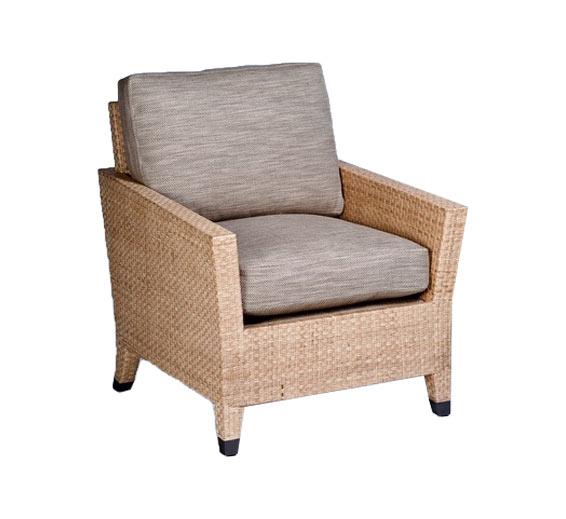 Basel Lounge Chair Wicker Material Indoor Furniture