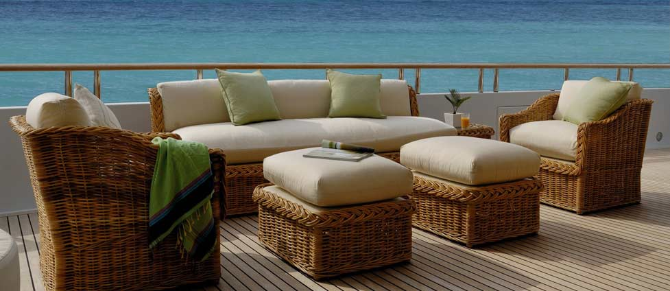 Timeless high end indoor outdoor casual furniture for Outdoor furniture high end